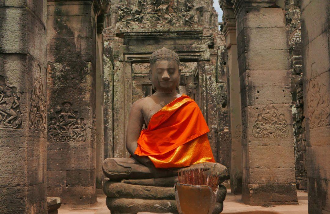 Śladami Lary Croft – Angkor Wat, Kambodża