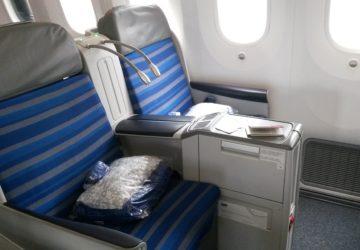Testujemy klasę business w Dreamlinerze